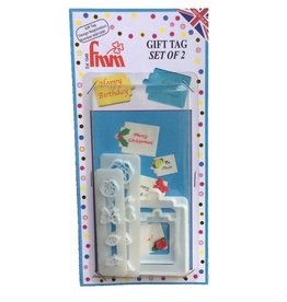 FMM FMM Gift Tag Cutter Set/4