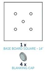 CakeFrame Square Base Board -35cm- Pack/5