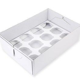 PME Cupcake Box 12 - 9cm high
