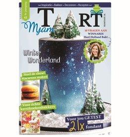 MjamTaart! Taartdecoratie Magazine Winter 2016