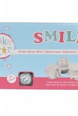 Cake Star Cake Star Push Easy Alphabet Cutters Uppercase Mini  Set/26