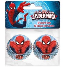 Stor Stor Mini Baking Cups Spiderman pk/60