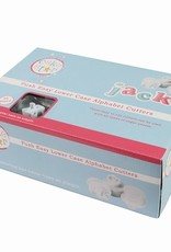 Cake Star Cake Star Push Easy  Alphabet Cutters Lowercase Set/26