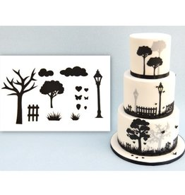 Patchwork Patchwork Cutters Countryside Silhouette Set