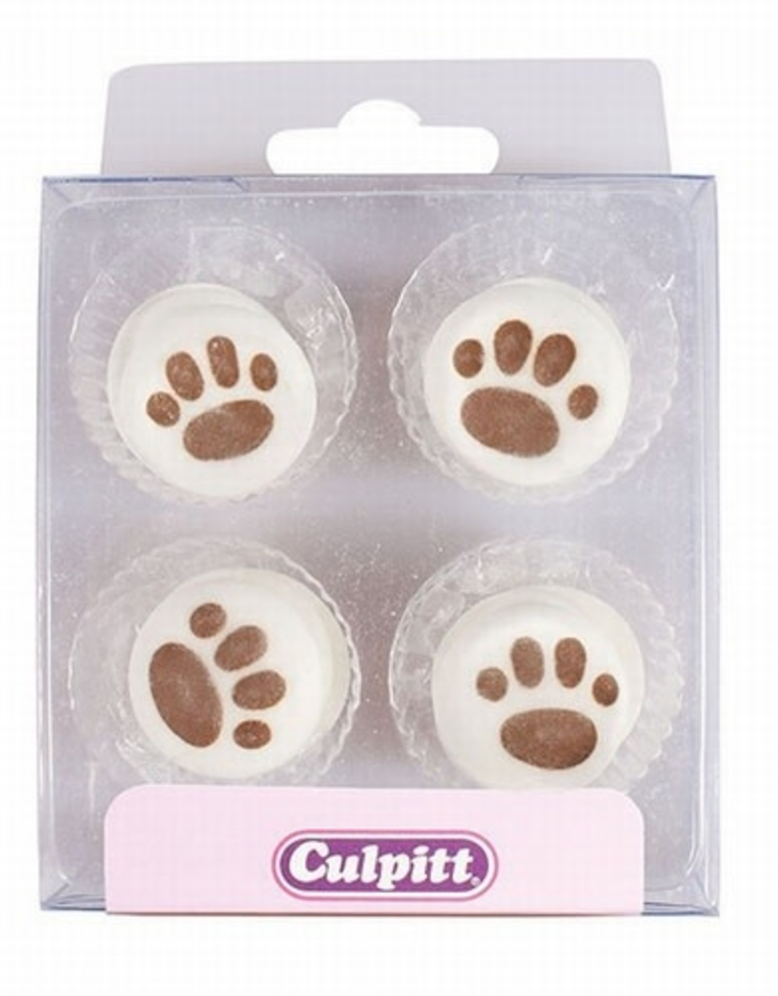 Culpitt Culpitt Suikerdecoratie Pootafdruk pk/12