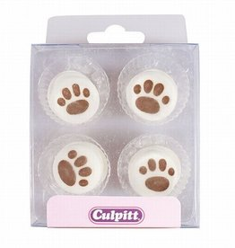 Culpitt Suikerdecoratie Pootafdruk pk/12