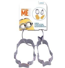 Stor Metalen Koekjes Uitstekers Minions set/2