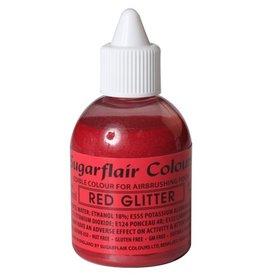 Sugarflair Sugarflair Airbrush Colouring -Glitter Red- 60 ml