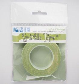 PME PME Glitter Tape -Pale Green Silver-