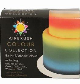 Sugarflair Sugarflair Airbrush Colour Collection 8x14ml