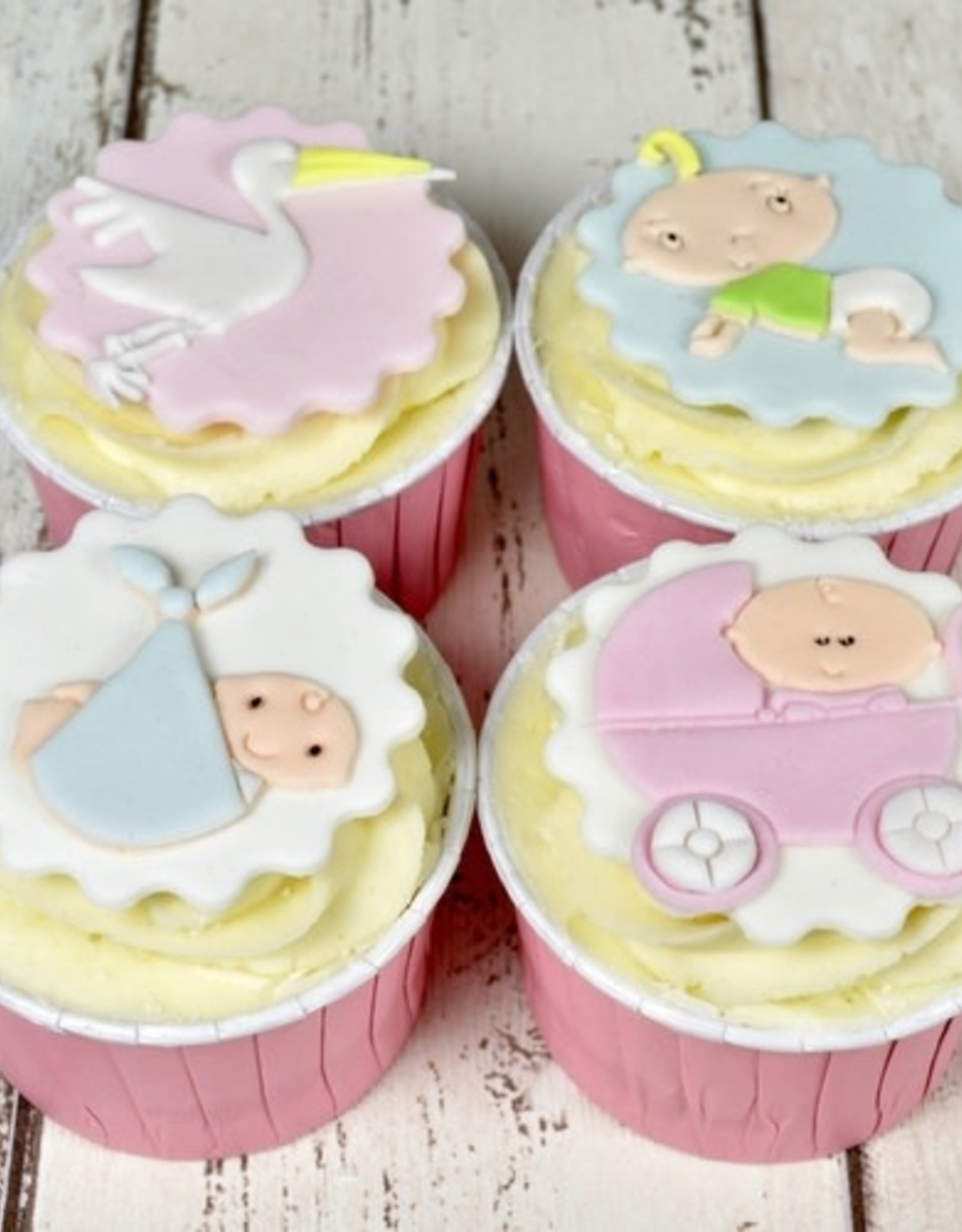 FMM FMM Adorable Baby Cutter Set/4