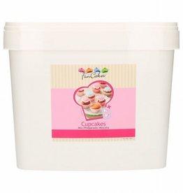 FunCakes Mix voor Cupcakes 5kg -Emmer-