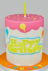 FMM FMM Curved Words Cutter Happy Birthday