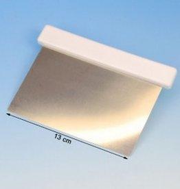 Deeg Schraper Metaal met Kunststof Handvat 15 x 10cm