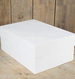 FunCakes FunCakes Taartdoos -Blanco 40x30x15cm- pk/1