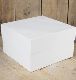 FunCakes Taartdoos -Blanco 25x25x15cm- pk/1