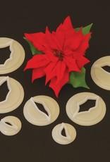 FMM FMM Poinsettia Cutter set/7
