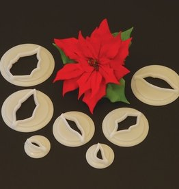 FMM FMM Poinsettia Cutter set/7