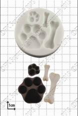 FPC FPC Paws and Bones/Pootafdrukken en Botten