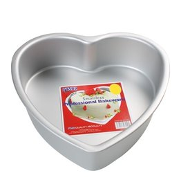 PME Diepe Hartvormige Bakvorm  20 x 7,5 cm