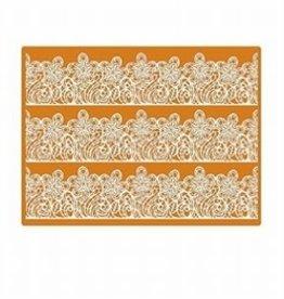 Martellato Sugar Dress Lace Mat 01 Bloemmotief Groot 30 x 40cm