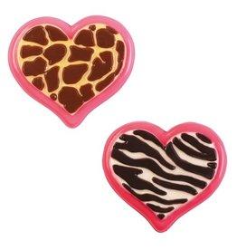 Wilton Candy Mold Animal Print Heart