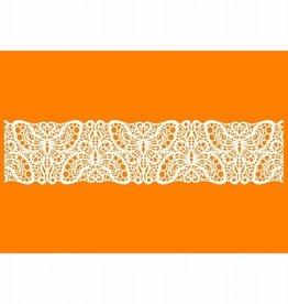 Martellato Sugar Dress Lace Mat 03T Vlindermotief 10 x 40cm