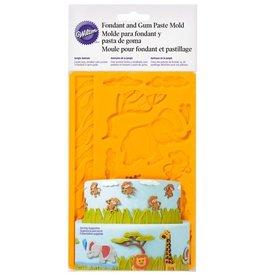 Wilton Wilton Fondant & Gum Paste Mold Jungle Animals