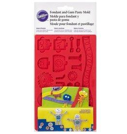 Wilton Fondant & Gum Paste Mold Robots & Monsters