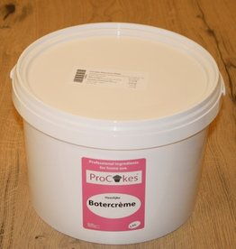 ProCakes ProCakes Botercreme in pastavorm 5 kg