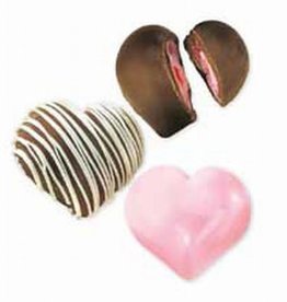 Wilton Candy Mold Deep Heart Truffle