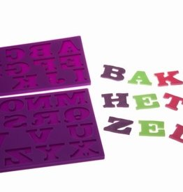Bakhetzelf Bakhetzelf Sinterklaasalfabet in chocoladeletterstijl/2