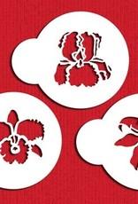 Designer Stencils Designer Stencils Exotic Flowers Set/3