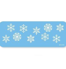 JEM JEM Snowflakes Stencil