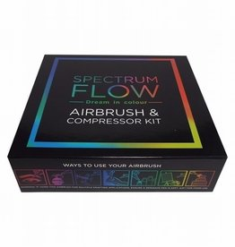 Spectrum Flow Airbrush Machine Kit -Black-