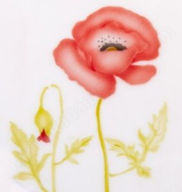 ICA Airbrush Stencil Poppy