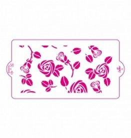 Decora Stencil 15x30cm Rose