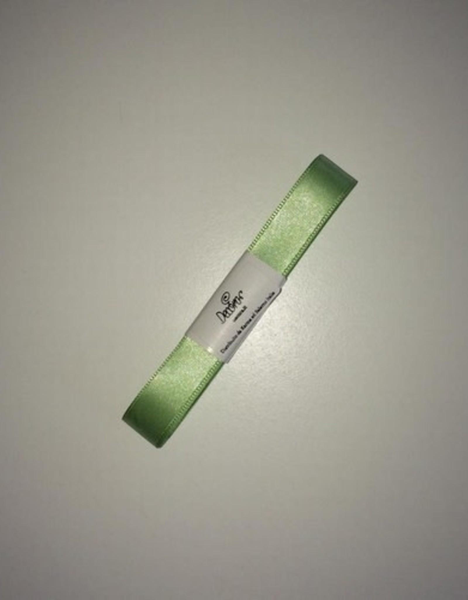 Double Satin Ribbon 15mm x 5mtr Light Green
