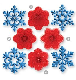 JEM JEM Angel Snowflakes Cutter set/4