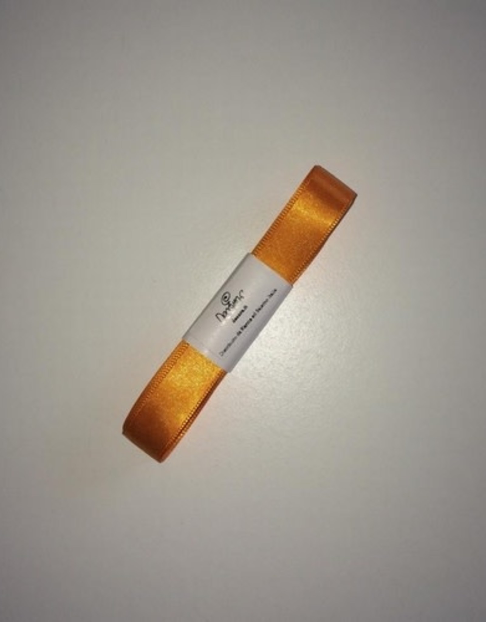 Double Satin Ribbon 15mm x 5mtr Orange