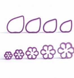 Decora Decora Cutterset Gardenia/9