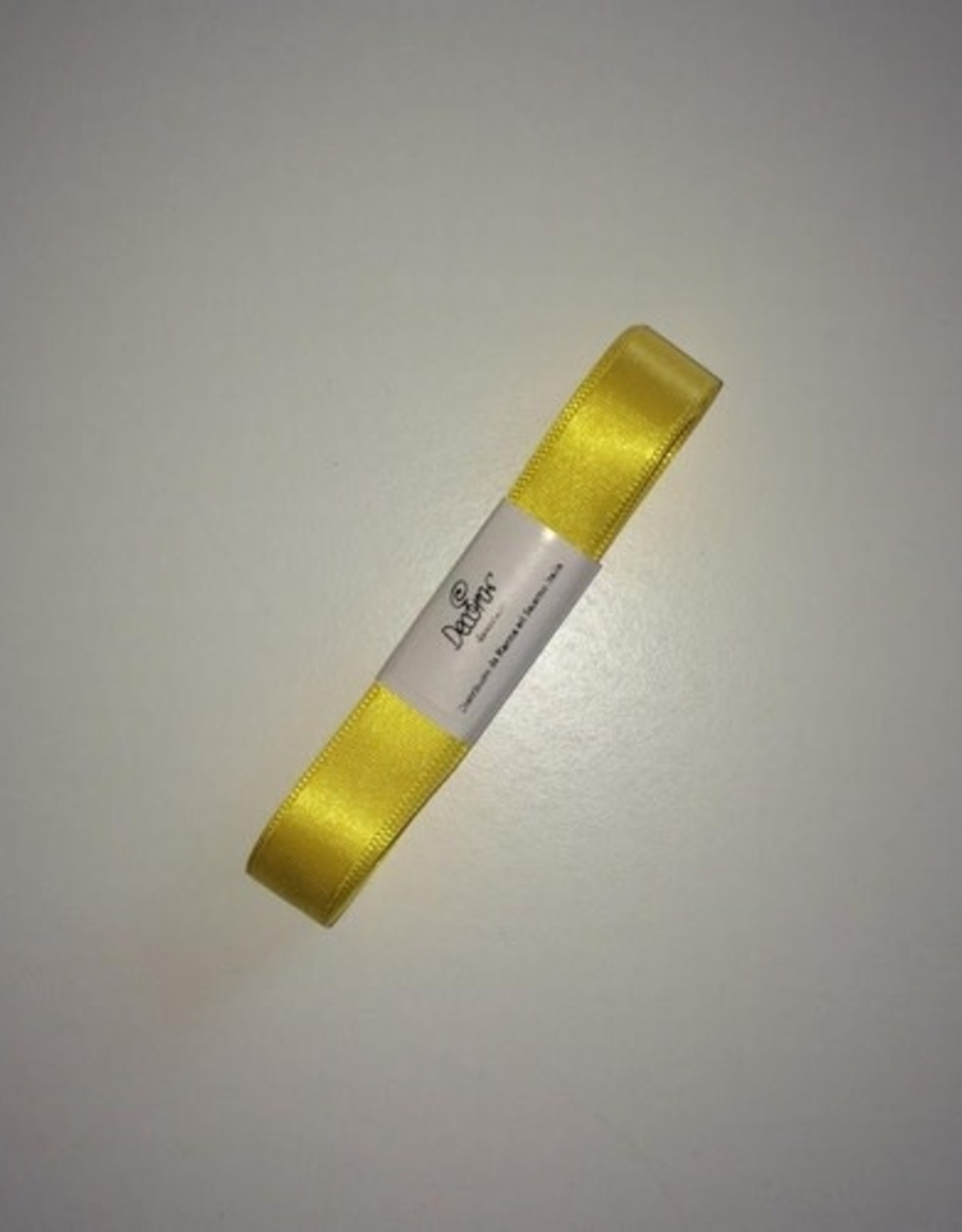 Double Satin Ribbon 15mm x 5mtr Yellow