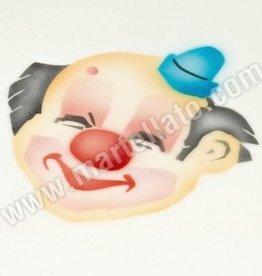 Martellato ICA Airbrush Stencil Clown