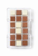 Decora Decora Chocolate Mould Vierkant 18