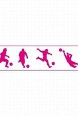 Decora Decora Stencil 7x30cm World Cup