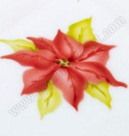 ICA Airbrush Stencil Poinsettia