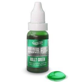 Rainbow Dust Colour Flo Airbrush Colour - Holly Green -16ml-