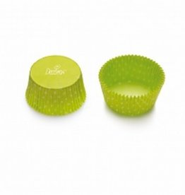 Decora Baking Cups Symphony Green 50X32mm/75