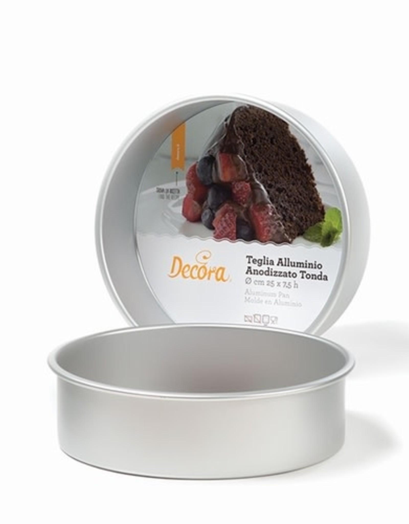 Decora Decora Prof Aluminium Round Cake Pan Ø 15 x 7,5cm