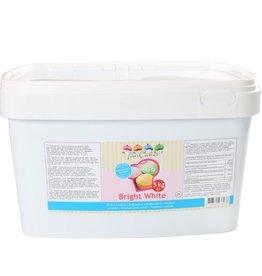 Fun Cakes FunCakes Rolfondant -Bright White- 5kg emmer